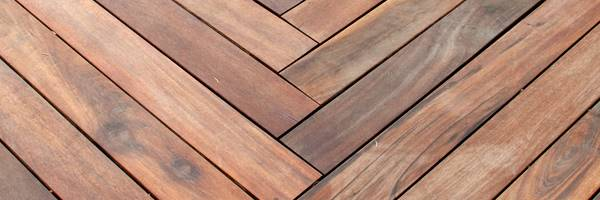 hardwood decking london