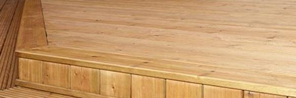 softwood decking london