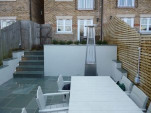 Kota Blue Limeston Path Steps Patio Wimbledon