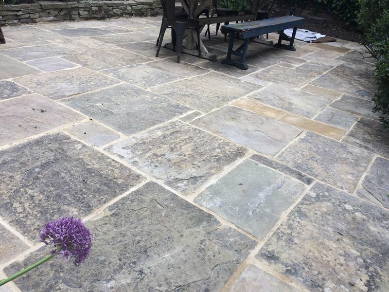 Old York Stone Patio