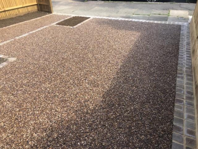 Resin Bond driveway in Brockley