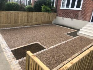 Resin Bond driveway in Brockley